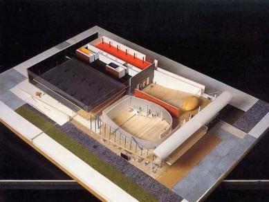 Educatorium - Model - foto: Office for Metropolitan Architecture