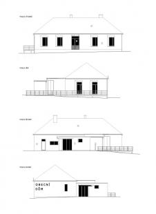 Obecní dům v Lukovečku - Pohledy - foto: NEW WORK