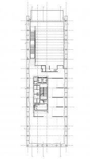 Peresovo mírové centrum  - Level +7.95m - foto: © Massimiliano Fuksas Architetto