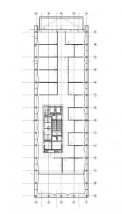 Peresovo mírové centrum  - Level +11.95m - foto: © Massimiliano Fuksas Architetto