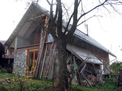 Obnova domu v Zádveřicích - foto: archiv autora