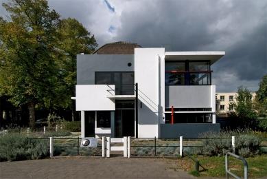 Dům Rietvelda a Schröderové - foto: Petr Šmídek, 2009