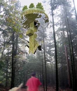 Forest Tower - Vizualizace věže - foto: © SeARCH