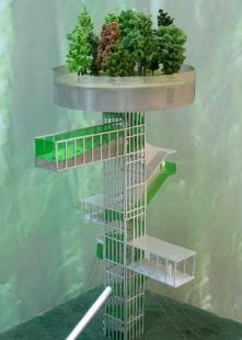 Forest Tower - Fotografie modelu - foto: © SeARCH