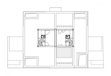 Hanspaulka Nové Vily - Vila M III - Střešní terasa