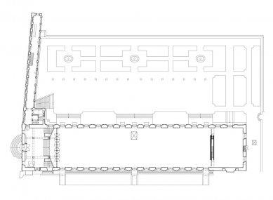 Rekonstrukce Jízdárny Pražského hradu - foto: Přízemí