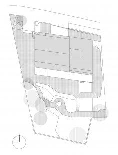 Rodinný dům v Myšlíně - Situace - foto: Aulík Fišer architekti