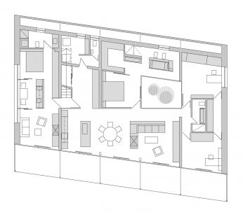 Rodinný dům v Myšlíně - 1NP - foto: Aulík Fišer architekti