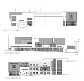 Obchodní dům Zlaté jablko - Pohledy - foto: NEW WORK