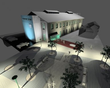 Městský úřad Semily - Perspektiva - foto: studio ARTIKL Liberec