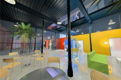 Městský úřad Semily - Vnitřní vizualizace - foto: studio ARTIKL Liberec