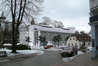 Městský úřad Semily - Zákres do fotografie - foto: studio ARTIKL Liberec