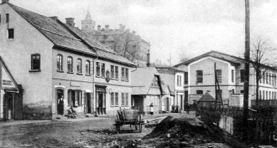 Městský úřad Semily - Historický snímek - foto: archiv studio ARTIKL Liberec