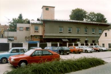 Městský úřad Semily - Původní stav - pohled z náměstí - foto: archiv studio ARTIKL Liberec