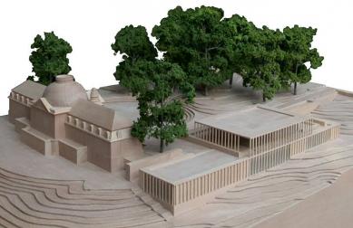 Muzeum moderní literatury - Model - foto: © David Chipperfield Architects