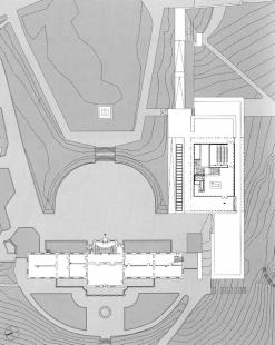 Muzeum moderní literatury - Vstupní podlaží - foto: © David Chipperfield Architects