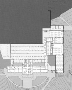 Muzeum moderní literatury - Výstavní podlaží - foto: © David Chipperfield Architects
