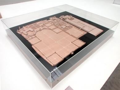 Rozšíření hřbitova San Michele - Dřevěný model hřbitova - foto: Petr Šmídek, 2002