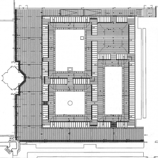Rozšíření hřbitova San Michele - Půdorys - foto: © David Chipperfield Architects