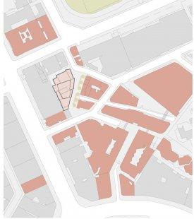 Nové studentské centrum St. Philips - Situace - foto: © David Chipperfield Architect