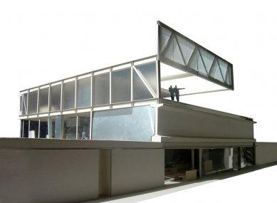 Dům Hemeroscopium - Model - foto: © Ensamble Studio