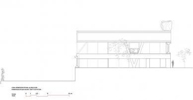 Dům Hemeroscopium - Jižní pohled - foto: © Ensamble Studio