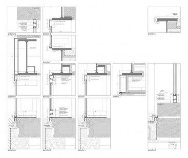 Dům Hemeroscopium - Detaily fasády - foto: © Ensamble Studio
