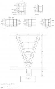 Dům Hemeroscopium - Detail sloupu - foto: © Ensamble Studio