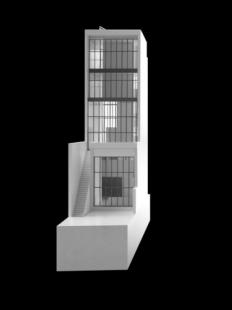 Řadový dům O-10 - Model - foto: David Chipperfield Architects
