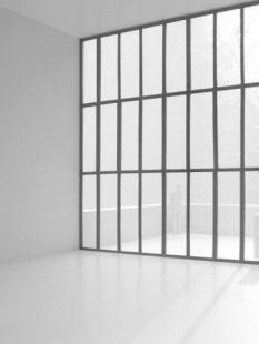 Řadový dům O-10 - Interiér modelu - foto: David Chipperfield Architects