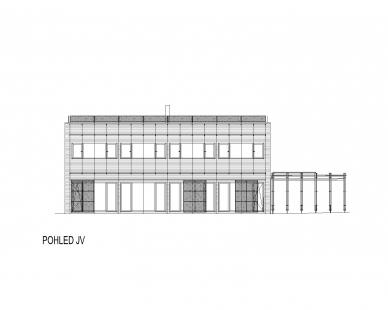 RD Černošice - Pohled - foto: KA architekti