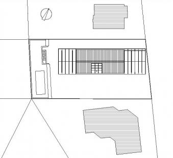 RD Květnice - Situace - foto: KA architekti