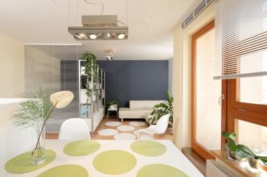Interiér bytu, Barrandov - foto: Robert Žákovič