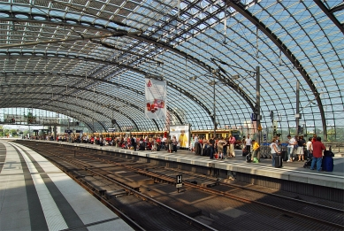 Lehrter Bahnhof - foto: Petr Šmídek, 2008