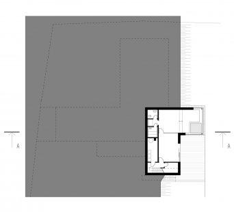 Rodinný dům Svinošice 01 - 1PP - foto: knesl + kynčl architekti