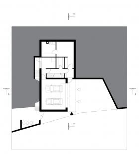 Rodinný dům Kuřim 01 - 1PP - foto: knesl + kynčl architekti