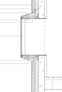 IIRIS – kancelářská budova a centrum služeb pro zrakově postižené - Detail okna - foto: Lahdelma & Mahlamäki Architects