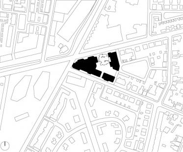 De Eekenhof - Situace - foto: Claus en Kaan Architecten