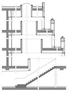 De Eekenhof - Detailní řez vstupní halou - foto: Claus en Kaan Architecten
