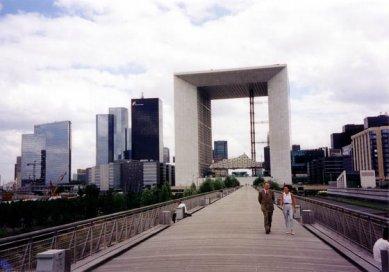 La Grande Arche - foto: Petr Šmídek, 1998