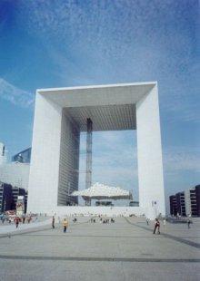 La Grande Arche - foto: Jan Kratochvíl, 1999