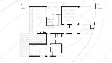 Rodinný dům Vinohrady 01 - 1NP - foto: knesl + kynčl architekti