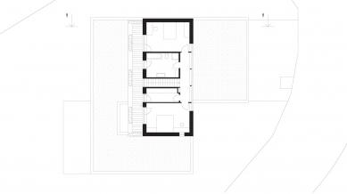 Rodinný dům Vinohrady 01 - 2NP - foto: knesl + kynčl architekti