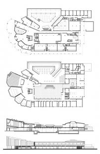 Kulturní centrum Wolfsburg - Plány