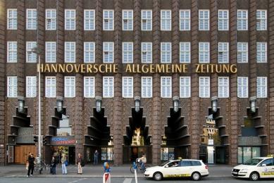Anzeiger Hochhaus - foto: Petr Šmídek, 2009