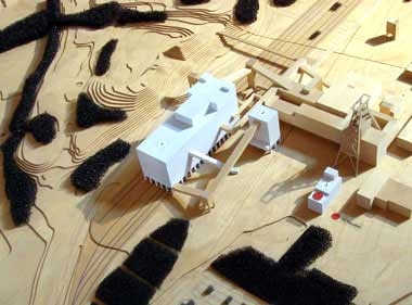 Coal Wash Plant - Model - foto: OMA