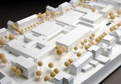 Rozšíření Folkwang-Museum - Model vítězného návrhu z roku 2007. - foto: David Chipperfield Architects