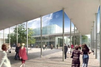 Rozšíření Folkwang-Museum - Vizualizace atria přepracovaného návrhu. - foto: Studio Toni Yli-Suvanto