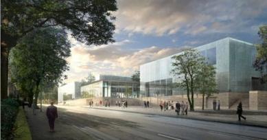 Rozšíření Folkwang-Museum - Vizualizace přepracovaného návrhu. - foto: Studio Toni Yli-Suvanto