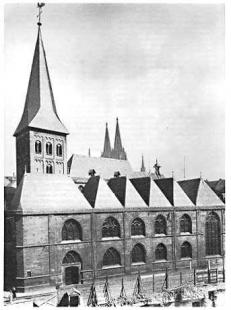Kolumba - Kostel St.Kolumba v roce 1929